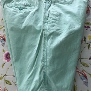 Banana republic mens 33 Aiden shorts green